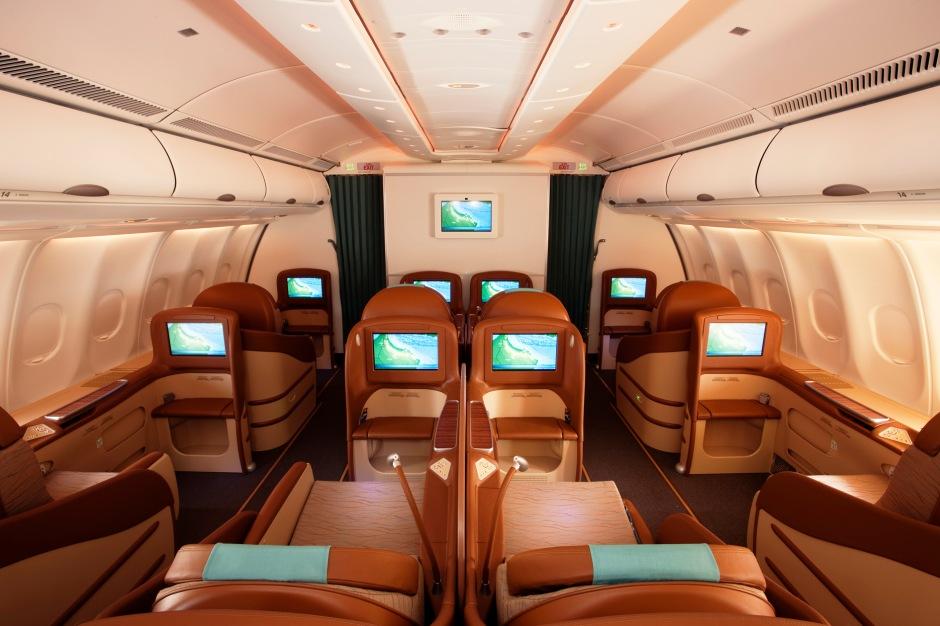 A330 previous business class