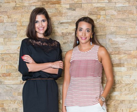 Sara Alemzadeh and Ranya Khalil-Aghamardi, co-founders of Designer-24