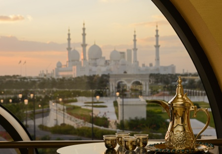 The Ritz-Carlton Abu Dhabi, Grand Canal, Room with a View Dusk